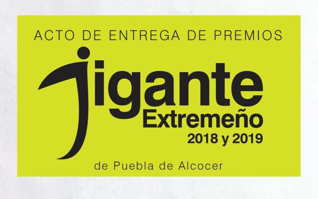 Hoy se entregan los premios Gigante Extremeño